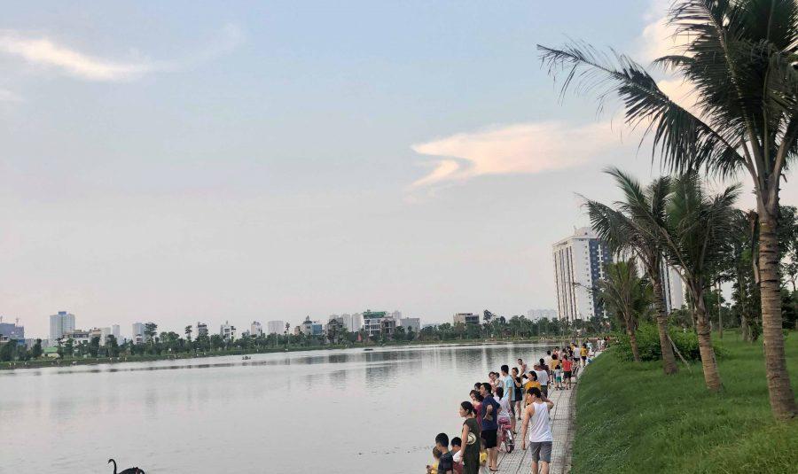 Hồ cá Thanh Hà đẹp mộng mơ