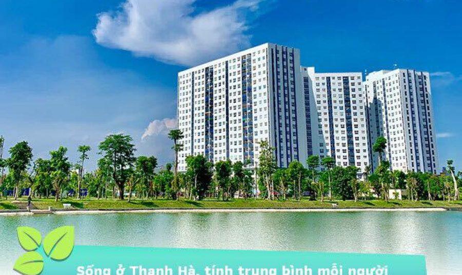 Phủ kín cây xanh giữa lòng Hà Nội tại Khu đô thị Thanh Hà Cienco 5