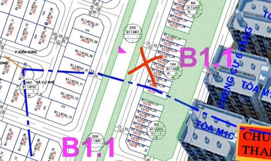 Chính chủ bán Liền Kề Thanh Hà Cienco 5 lô B1.1 LK02 VT07 giá rẻ LH 0989.157.866